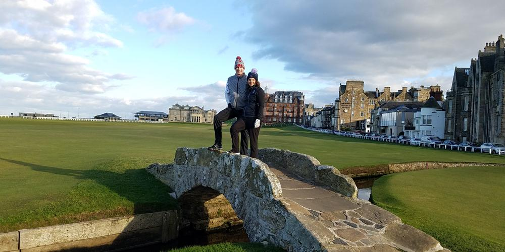 First Trip To St. Andrews